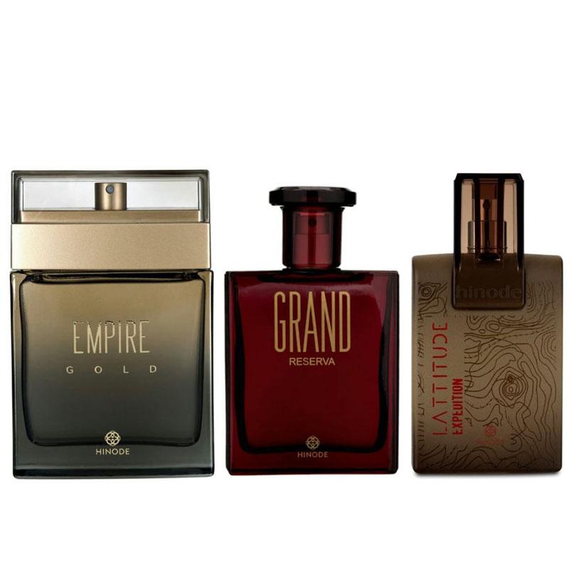 melhores perfumes masculinos da Hinode