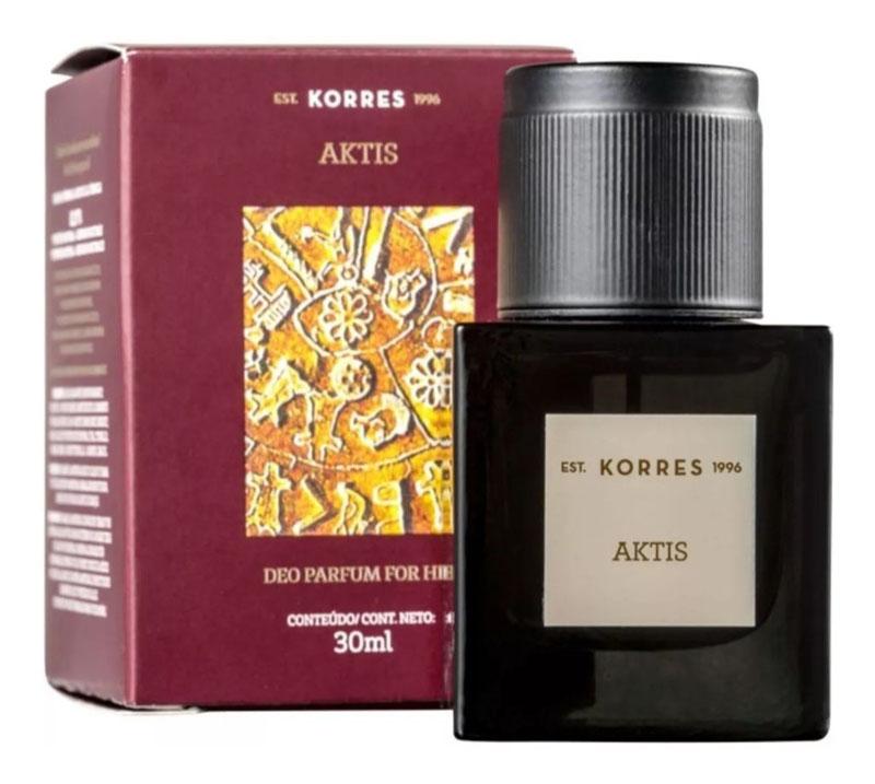 Melhores perfumes masculinos da Korres