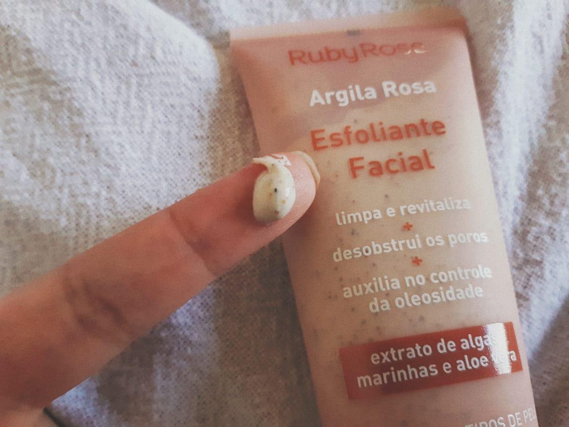 esfoliante facial argila rosa tetuta