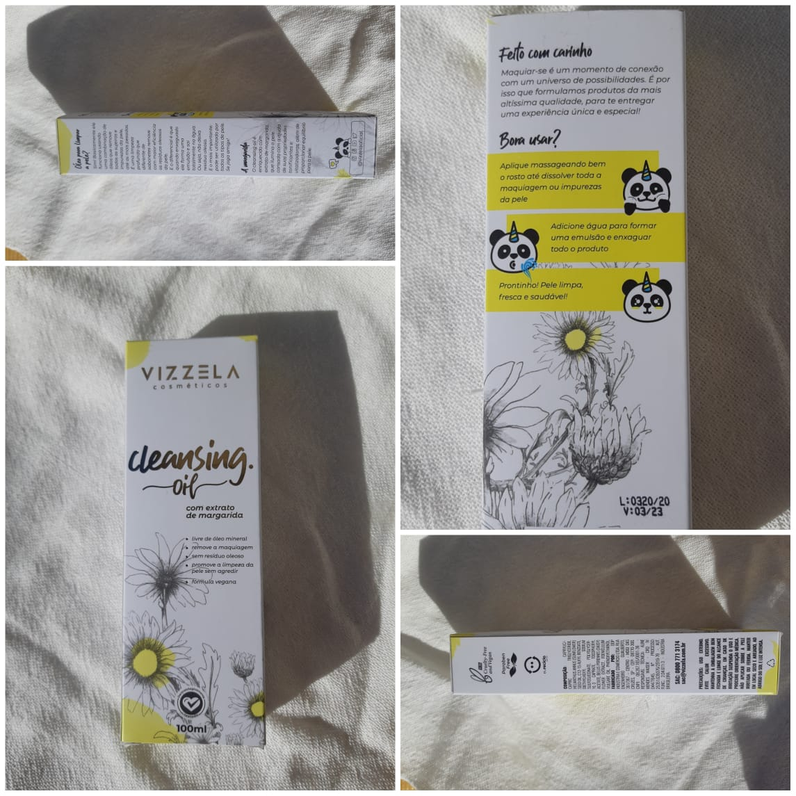 cleansing oil da vizzela