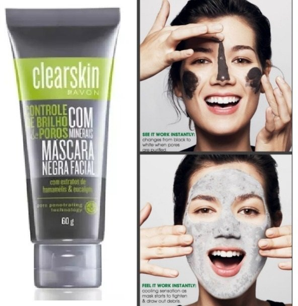 mascara negra facial