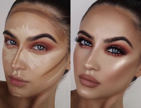 Paleta de Pó Facial Profissional