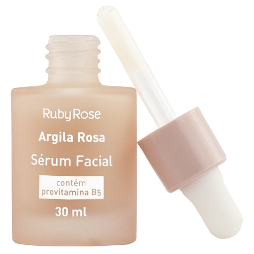 sérum facial argila rosa