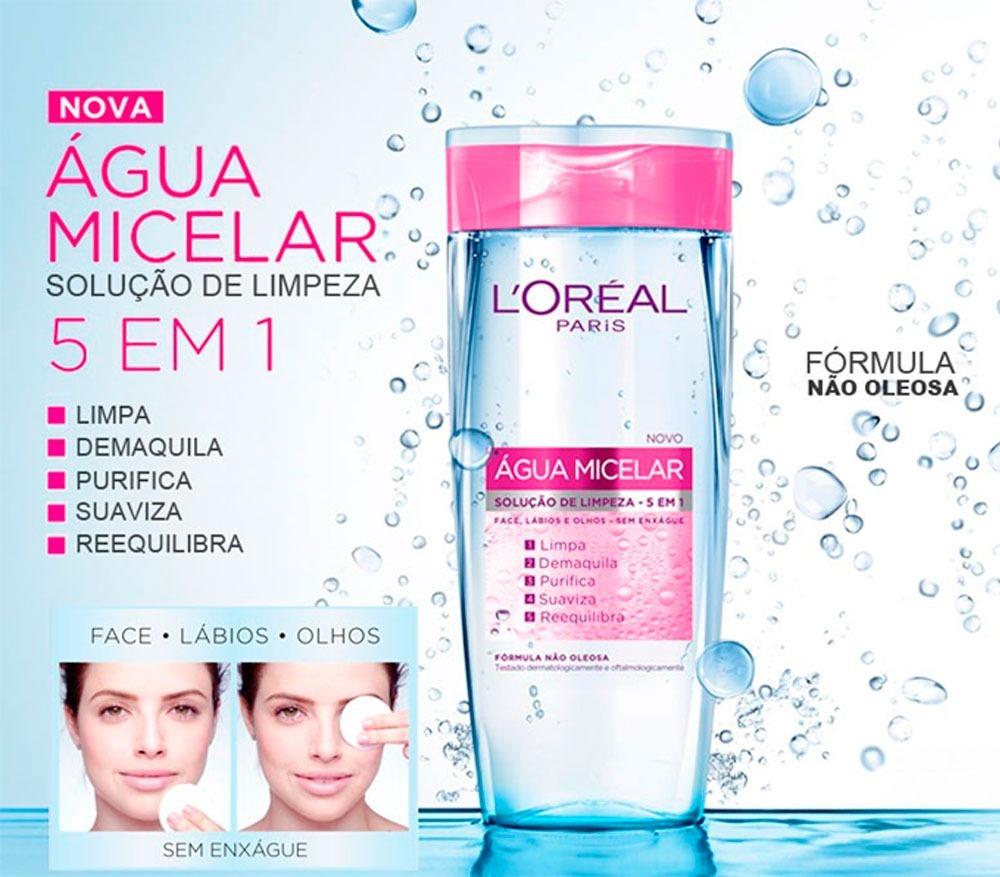 Água Micelar 5 em 1 Loréal