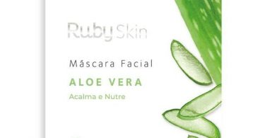 Máscara facial Aloe Vera da Ruby Rose