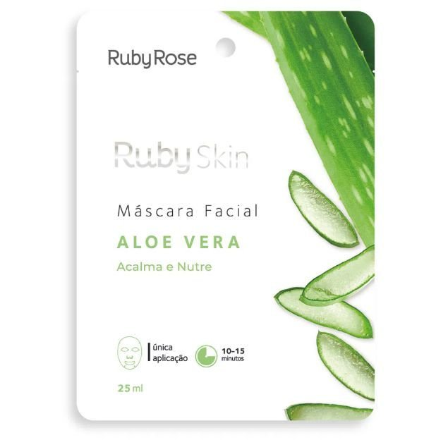 Máscara facial Aloe Vera da Ruby Rose