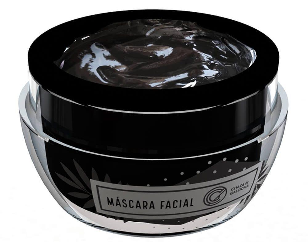 Máscara Facial de Carvão Ativado