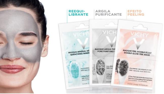 Máscara Mineral Argila Purificante Vichy