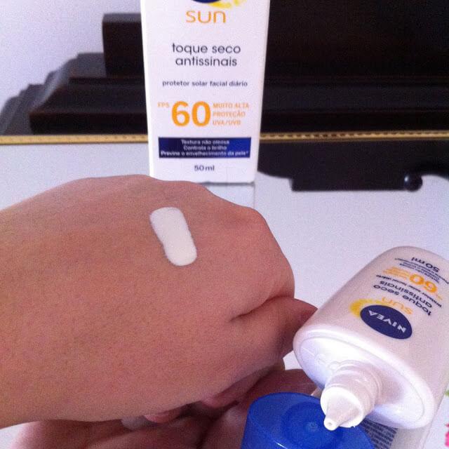 Protetor Solar Facial Toque Seco Nivea